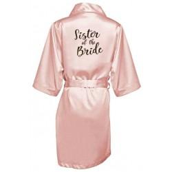 župánek pro družičku Sister of bride - světle růžový