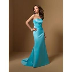 Krásné modré plesové šaty na míru
