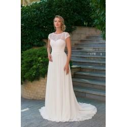 krémové svatební šaty boho Annie S-M