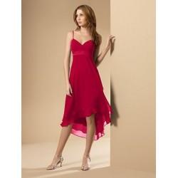 Krásné červené večerní šaty na míru