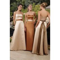 Dlouhé šaty pro družičku na míru