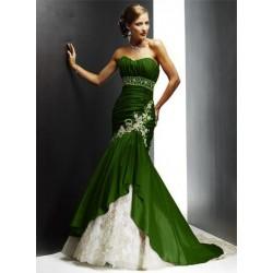 společenské šaty na ples Dita 23 zelené