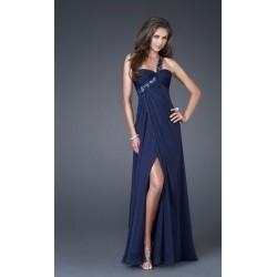 večerní šaty dlouhé Dita 24 tmavě modré
