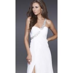 Dlouhé společenské svatební šaty