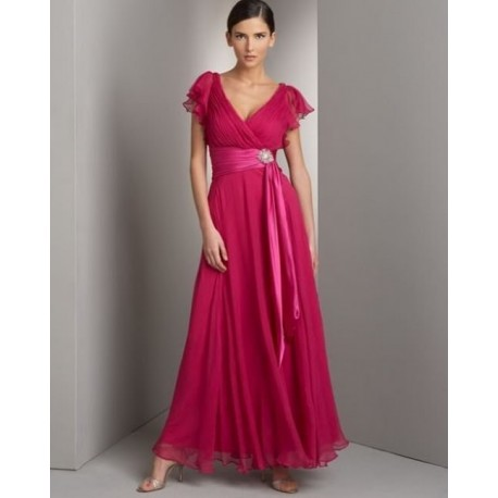 Krásné dlouhé růžové šaty na míru
