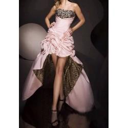 Luxusní tygrované společenské šaty Dita 25