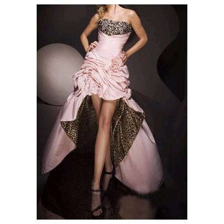 Luxusní tygrované společenské šaty na míru