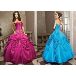 Luxusní honosné společenské maturitní šaty na míru