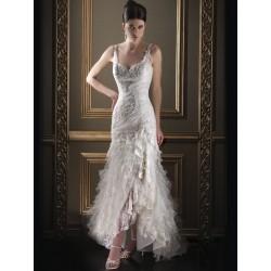 sexy svatební šaty Ionnie šité na zakázku