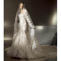 extra luxusní svatební šaty Maria šité na zakázku
