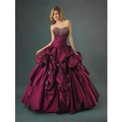 Luxusní fialové večerní šaty na míru - Quinceanera