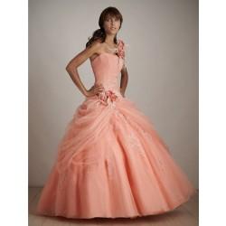 Krásné honosné večerní šaty na míru - Quinceanera 2011