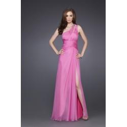 Krásné starorůžové společenské šaty na míru - Diane