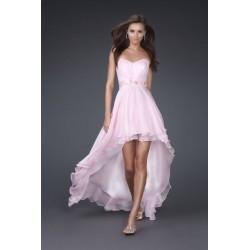 světle růžové společenské svatební šaty Dita 32