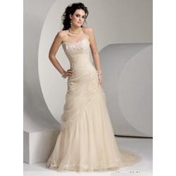 luxusní svatební šaty Rudy šité na zakázku