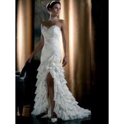 luxusní svatební šaty jako pro princeznu