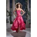 růžové plesové šaty na míru