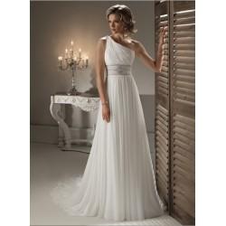 Luxusní svatební šaty na míru - Athéna