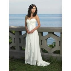 Svatební šaty  na míru - antický styl