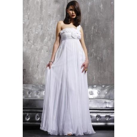 svatební šaty na míru - jednoduché