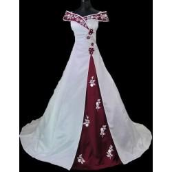 Svatební šaty na míru - červené
