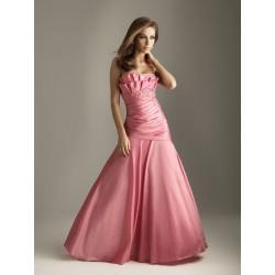 společenské šaty na míru růžové AKCE