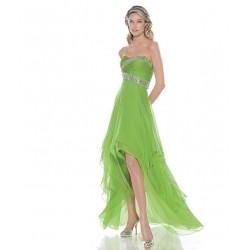 sexy zelené společenské šaty na míru