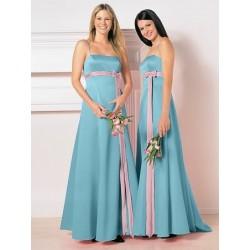 společenské šaty na míru modré