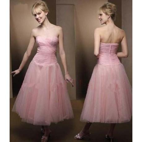 společenské šaty na míru růžové