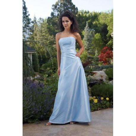 Nebeské společenské šaty na míru