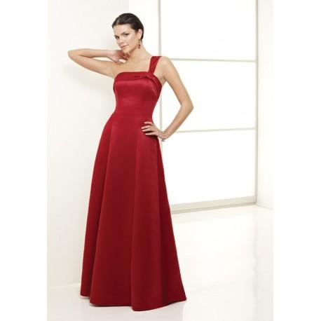 společenské šaty na míru červené