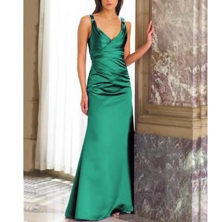 Zelené společenské šaty na míru