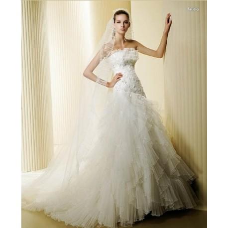 svatební šaty Dorie na míru