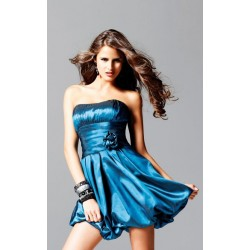 modré společenské šaty