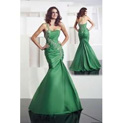 zelené luxusní společenské šaty Mauricia