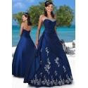modré společenské šaty Lejla