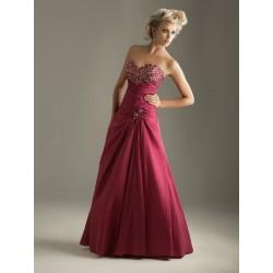 společenské šaty Adrianne červené