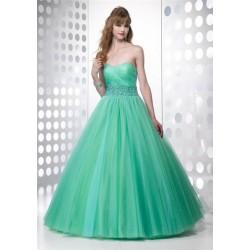 zelené společenské šaty Fiona