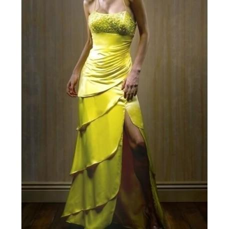 žluté večerní šaty - Hollywood Style E-Shop - plesové a svatební šaty 46d34c5d2d7
