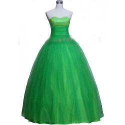 společenské šaty zelené
