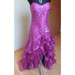 fialové maturitní šaty 102