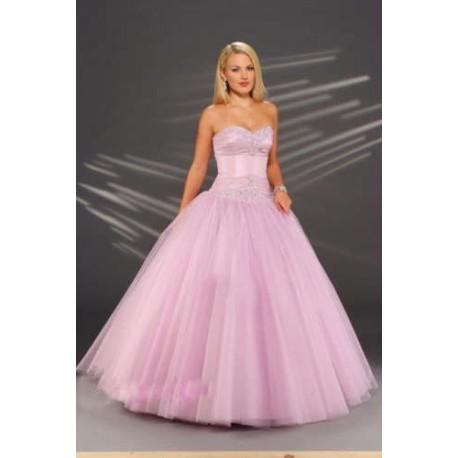 136a04e4c70 světle růžové plesové společenské šaty Carol M-L - Hollywood Style E ...