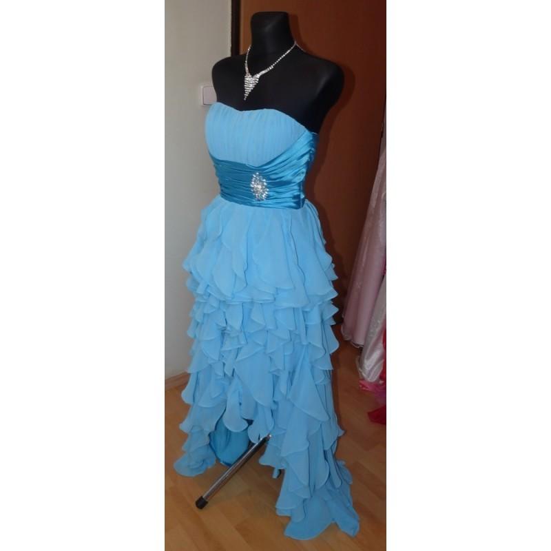 35553e9ba7a společenské šaty Dita 6 modré - Hollywood Style E-Shop - plesové a ...