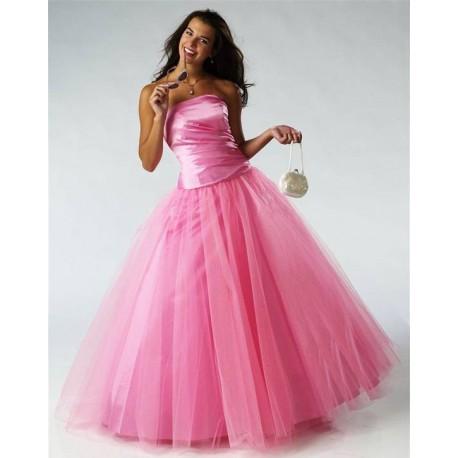 růžové plesové společenské šaty L-XL - Hollywood Style E-Shop ... 51c3d15c07