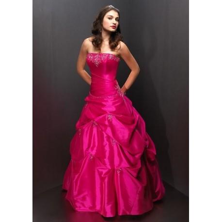 růžové maturitní společenské šaty Pinkie S-M SKLADEM