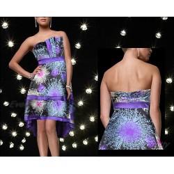 neobyčejné společenské fialové šaty SKLADEM