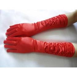 červené rukavičky SKLADEM