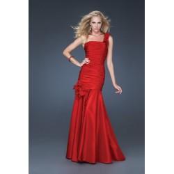 plesové šaty Mandy 12 červené