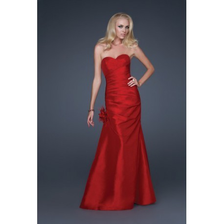 plesové šaty Mandy 13 červené