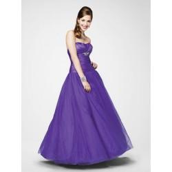 plesové šaty Mandy 15 fialové